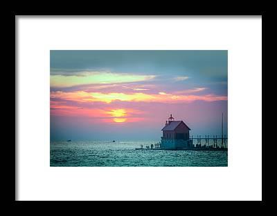 Great Lakes Region Framed Prints