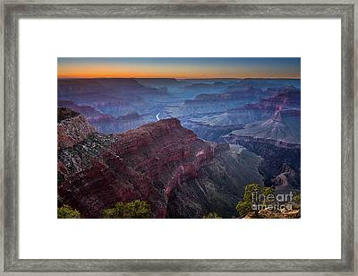 Sunset At Hopi Point Framed Print by Jamie Pham