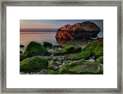 Sunset At Horton Point Framed Print by Rick Berk