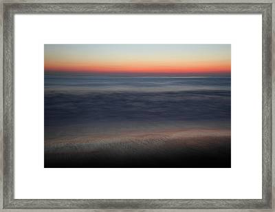 Sunset At Huntington Beach Framed Print by Pierre Leclerc Photography