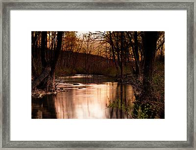 Sunset At King's River Framed Print by Tamyra Ayles