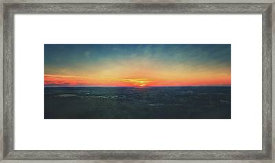 Sunset At Lapham Peak #3 - Wisconsin Framed Print by Jennifer Rondinelli Reilly - Fine Art Photography