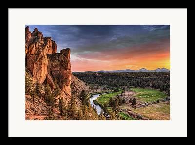 State Parks In Oregon Framed Prints