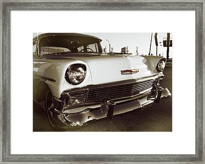Sunset At Sun Studio Framed Print by JAMART Photography