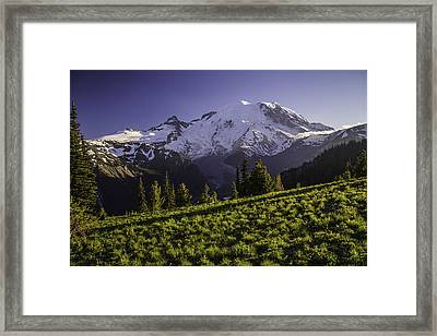 Sunset At Sunrise Framed Print