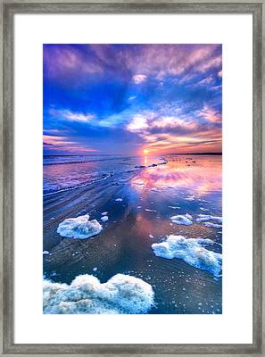 Sunset At Sunset Framed Print by Dan Carmichael