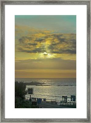 Sunset At The Old Success Inn Framed Print by Terri Waters