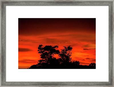 Sunset Baton Rouge Framed Print by Craig David Morrison