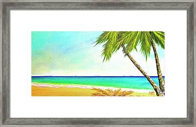 Sunset Beach #373 Framed Print by Donald k Hall