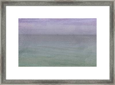 Sunset Beach Framed Print by Carolyn Dalessandro