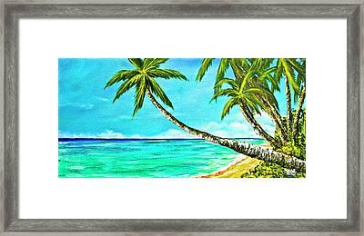 Sunset Beach#370  Framed Print by Donald k Hall