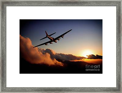 Sunset Belle Framed Print