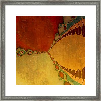 Sunset Framed Print by Bonnie Bruno