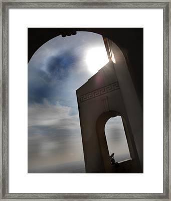 Sunset Framed Print by Bryan Steffy