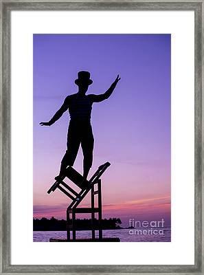 Balancing Act Framed Print by Juli Scalzi