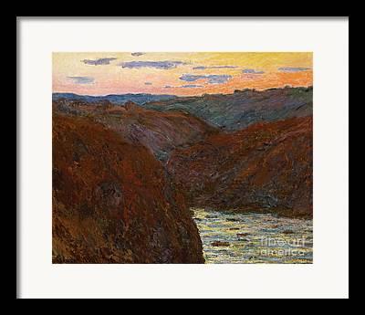 Creuse Framed Prints