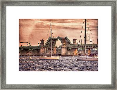 Sunset Closing Framed Print