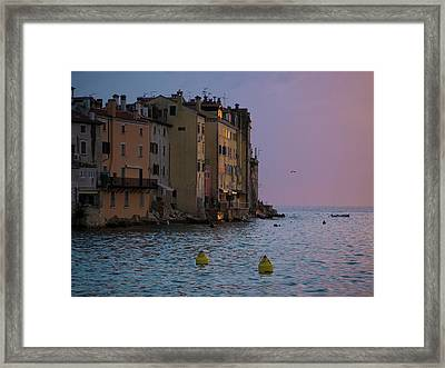 Sunset Colors Framed Print by Rae Tucker