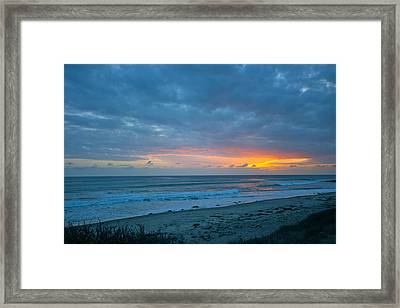 Sunset County Line Framed Print by Jeremy Stewart