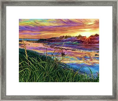 Sunset Creation Framed Print