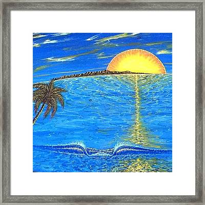 Sunset Dream Framed Print