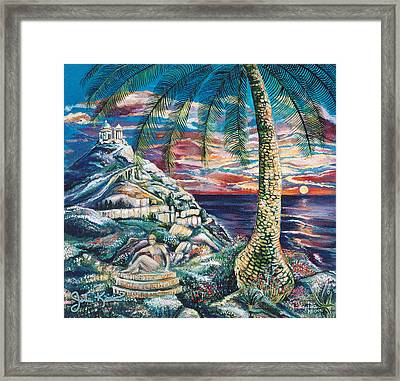Sunset Dreams Framed Print by John Keaton
