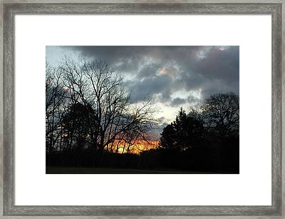 Framed Print featuring the photograph Sunset Dreams by Kicking Bear  Productions