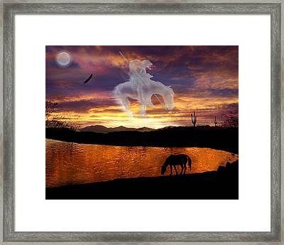 Sunset Dreams Framed Print by Nadene Merkitch