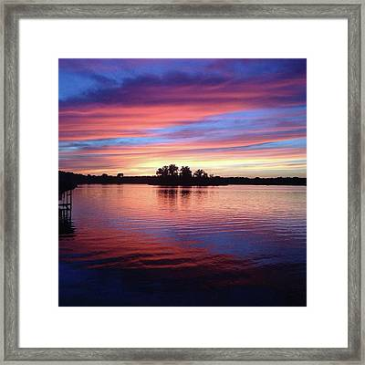 Sunset Dreams Framed Print