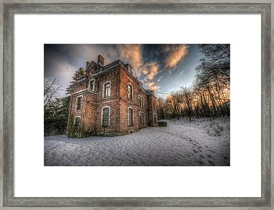 Sunset Duchess Framed Print