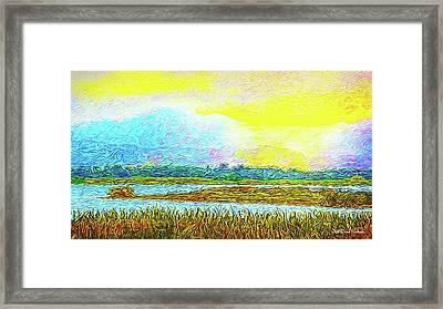 Sunset Ecstasy Framed Print by Joel Bruce Wallach