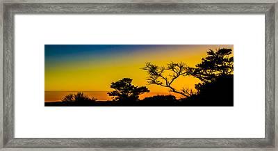 Sunset Fantasy Framed Print