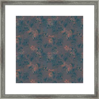 Sunset Flora Framed Print by Beth Travers