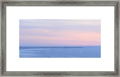 Sunset From Irish Beach Framed Print