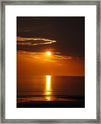 Sunset Glory Framed Print by Kelly Jones
