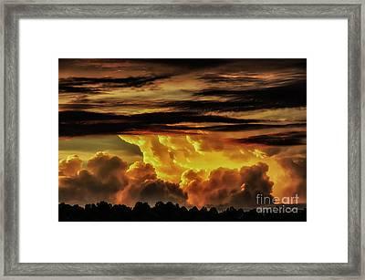 Sunset Glory Framed Print by Thomas R Fletcher