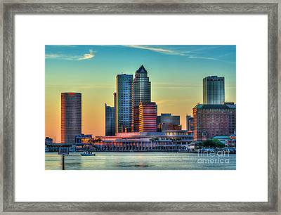 Sunset Glow Framed Print by Marvin Spates