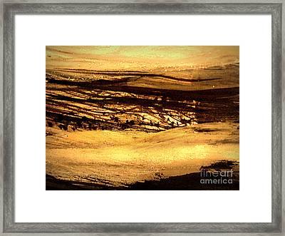 Sunset Glow Framed Print by Nancy Kane Chapman