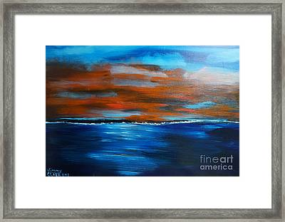 Sunset II Framed Print