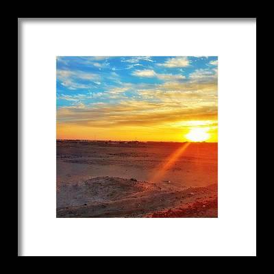 Sun Framed Prints