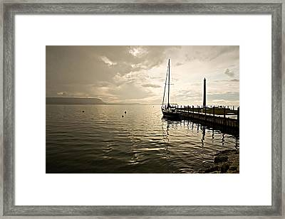 Sunset In Ephriam Framed Print by Carl Jackson
