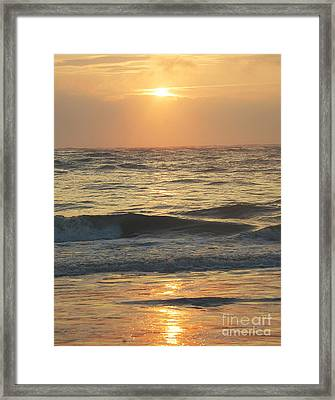 Sunset In Florida Framed Print