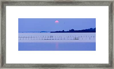 Sunset In Laguna Framed Print