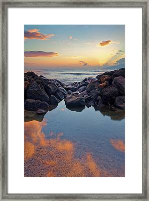 Sunset In Maui Framed Print by Francesco Emanuele Carucci