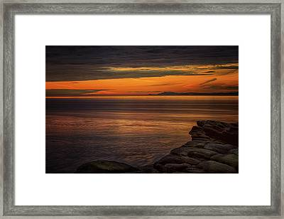 Sunset In May Framed Print by Randy Hall