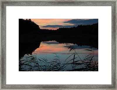 Sunset In September Framed Print