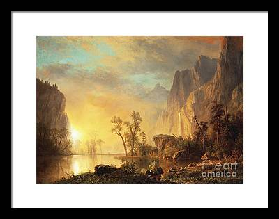 Hudson River Framed Prints