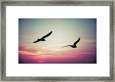 Sunset Framed Print by Joseph Westrupp