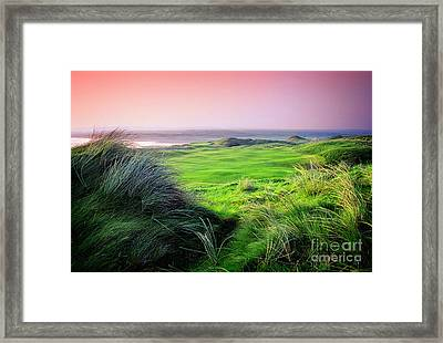 Sunset - Lahinch Framed Print