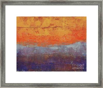 Sunset Framed Print by Laurel Englehardt